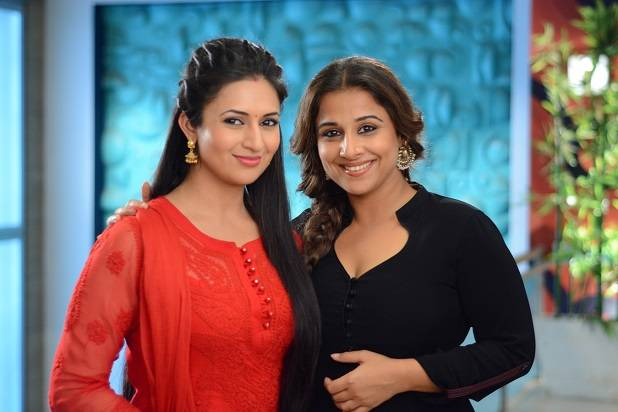 Vidya Balan shoots a special integration with Divyanka
