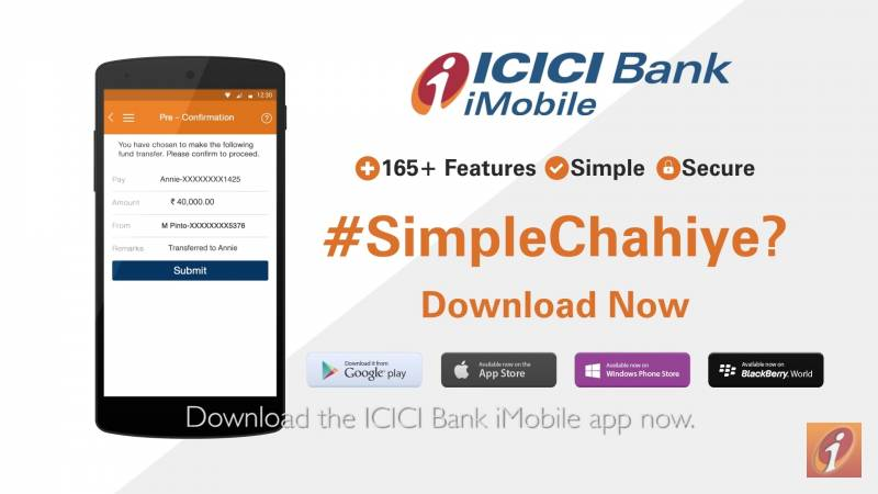 icici bank imobile software