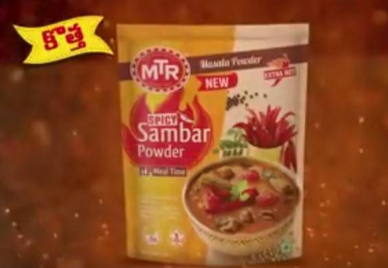 MTR Foods launches a spicy new TVC for their new Sambar variant in