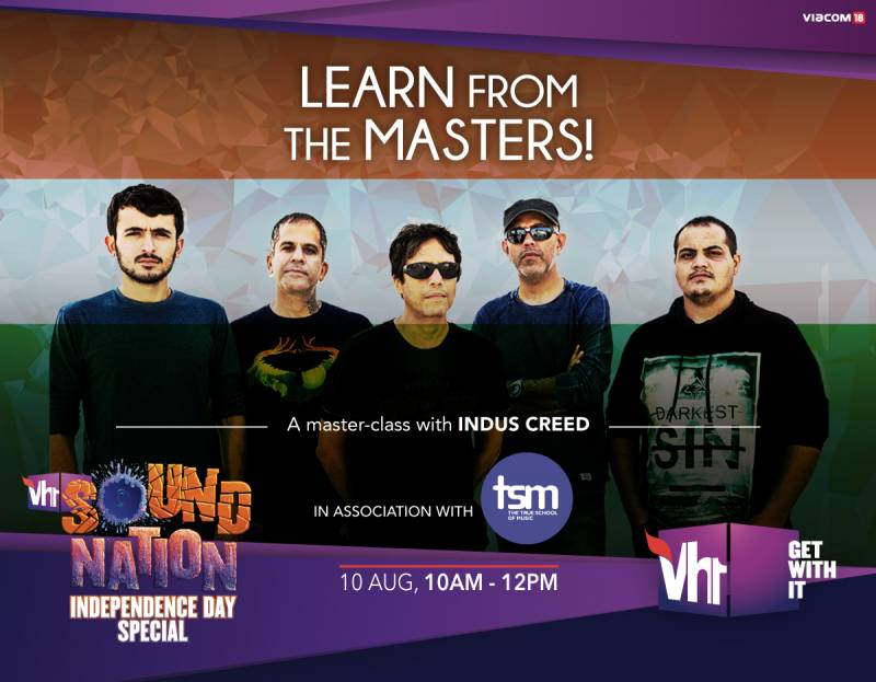 Vh1 adds a bold flavor to the Indian Music Scene this