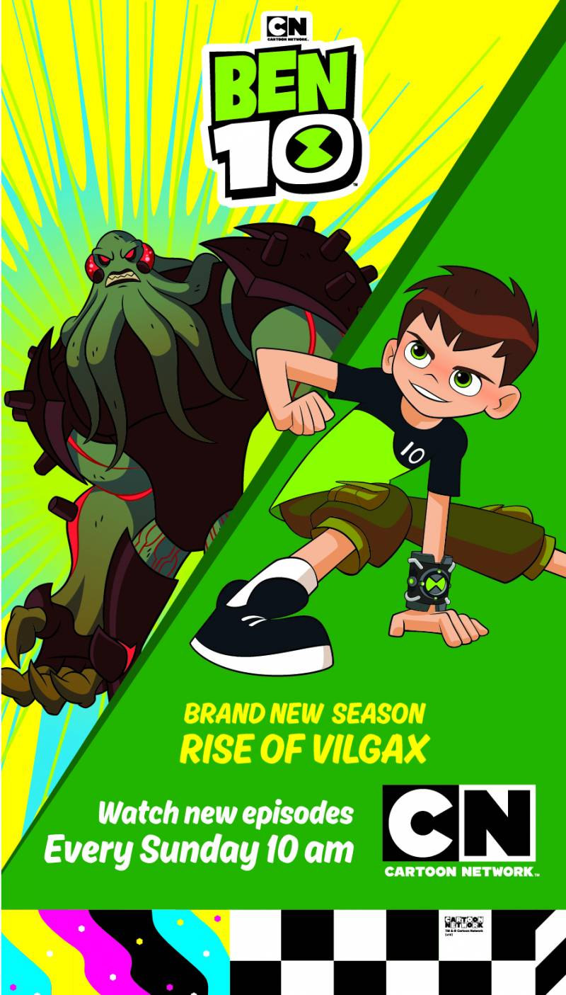 Cartoon Network Brings The Ultimate Intergalactic Battle Between Ben 10 Vilgax