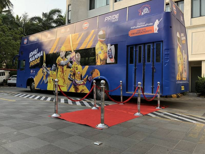 Gulf Oil Lubricants to Offer CSK Fans a Ride Aboard 'Gulf