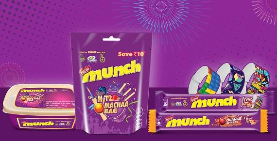 Nestlé MUNCH launches a special campaign around IPL