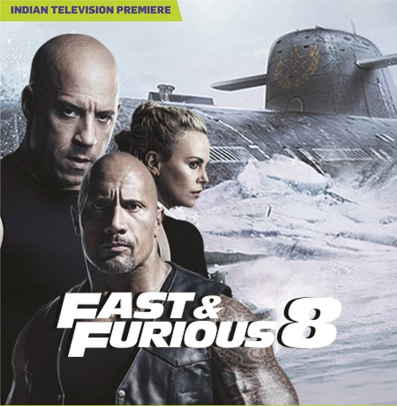 Sony PIX premieres the Biggest Blockbuster of 2017 'Fast