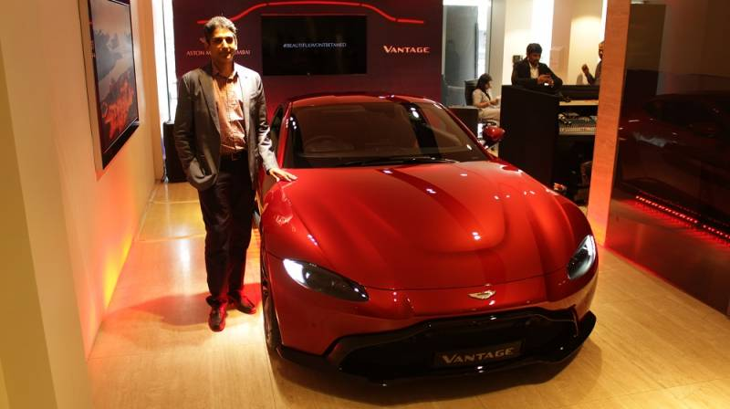 Infinity Cars Launches Aston Martin S New Vantage In India