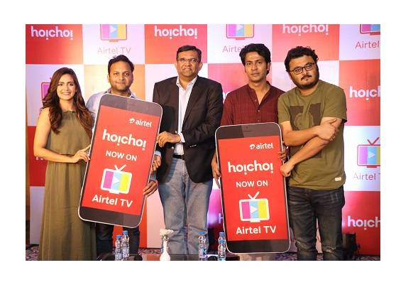 Airtel and hoichoi partner to bring hoichoi content on the