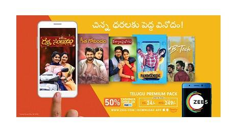 Zee5 Announces Special Subscription Packs for Tamil & Telugu