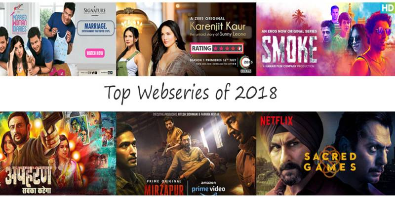 Genre defining web originals in the year 2018