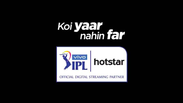 Koi Yaar Nahi Far' with Hotstar this VIVO IPL 2019