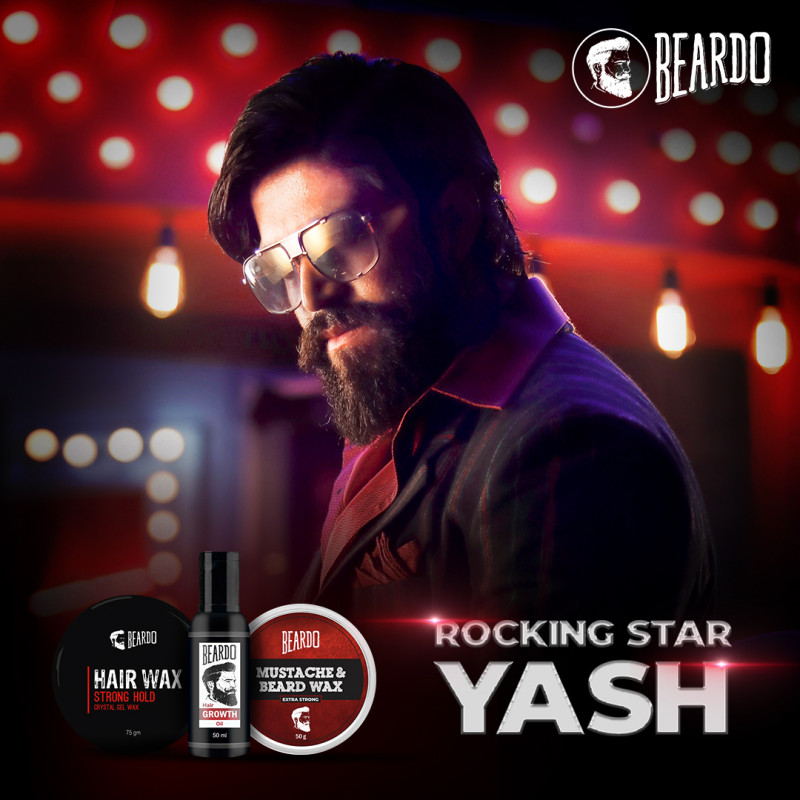 Beardo on boards Yash from KGF Chapter 1 as new brand ambassador