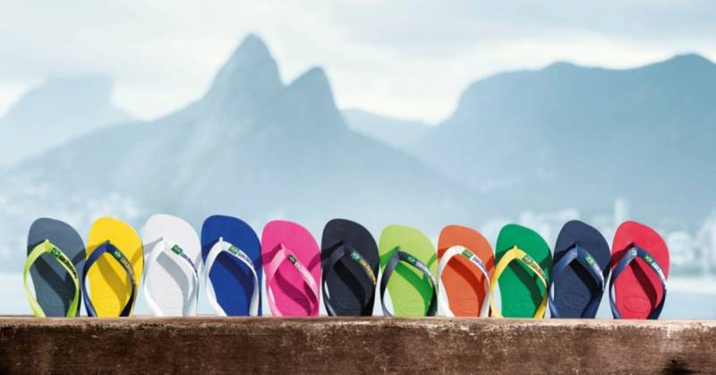 the sale of shoes vast selection available Brand Havaianas arrives in India!