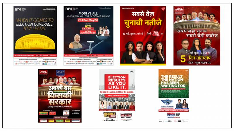 AajTak, India Today TV lead news genre on Counting Day