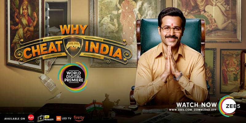 ZEE5 premieres 'Why Cheat India'