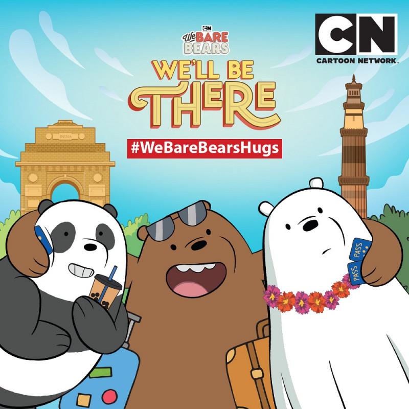 Cartoon Network S We Bare Bears Visit India