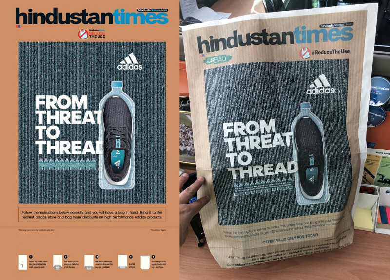 Ht Launches Print Innovation To Curb Reliance On Plastic In Association With Adidas M3m