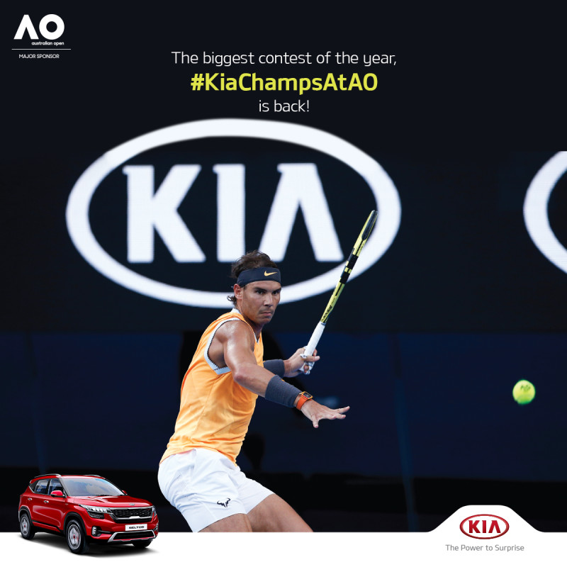 Kia Motors Launches Australian Open Ballkids International