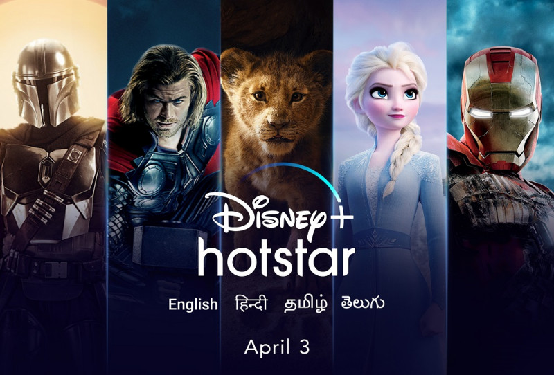 Disney+ Hotstar to launch on April 3rd