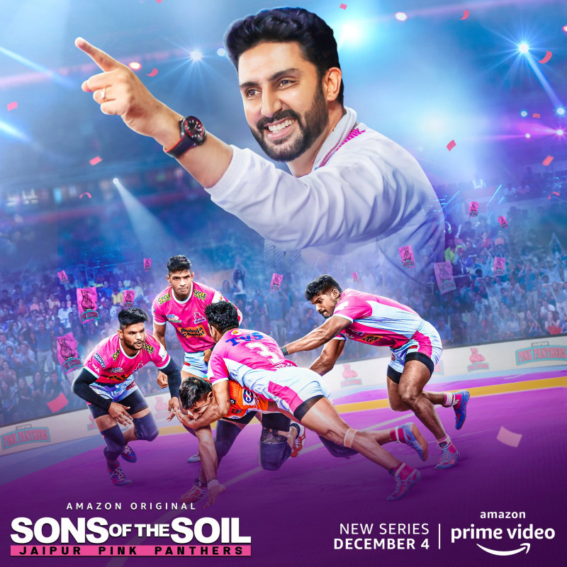 Prime Video unveils the poster of Sons of the Soil: Jaipur Pink Panthers
