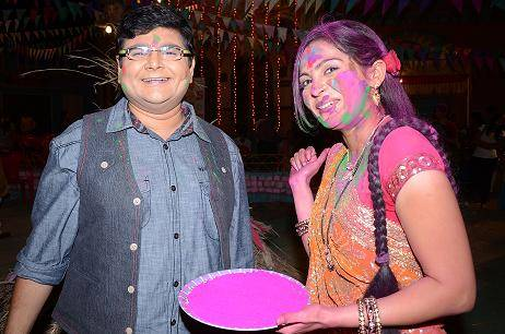 SAB TV celebrates the festival of 'Holi ' with stars from