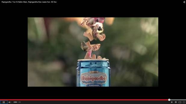 Rajnigandha launches a new TVC