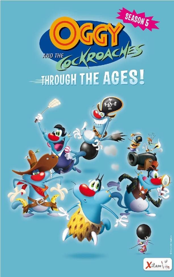 Cartoon Network Captures Latest Season Of Oggy And The