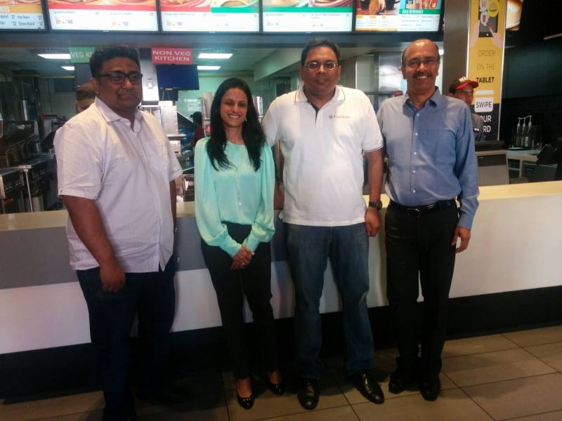 McDonald's and FreeCharge join hands to make meals