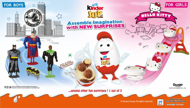 Kinder Joy Partners with Sanrio & Warner Bros  Consumer Products