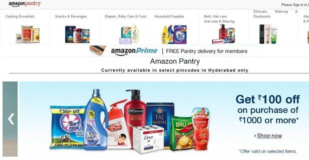 Amazon beefs up its grocery & household offering in India